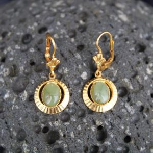 natural stone earrings